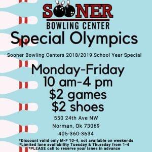 Special Olympics @ Sooner Bowl