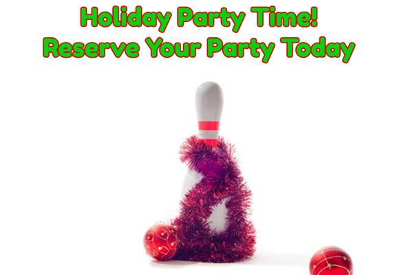 holiday party pin